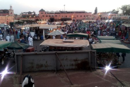 Plaza Yemaa el Fna Marrakech Marruecos