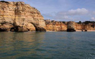 Playa en Benagil