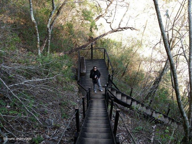 Descenso por el cañón del río Salobra