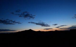 Anochecer en el Sahara