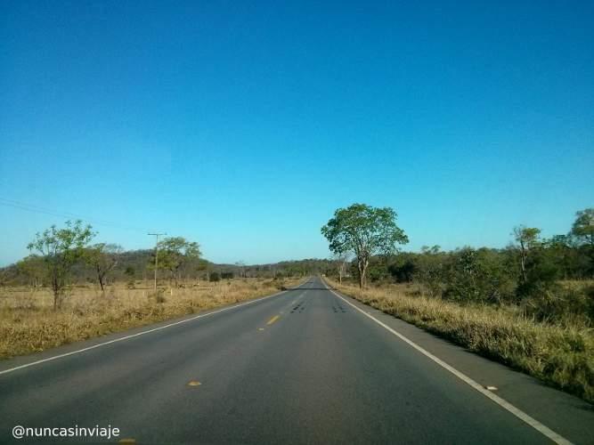 Carretera que conduce a Bonito