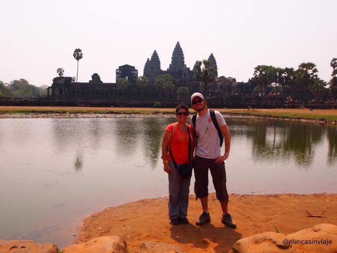 Vistas de Angkor Wat
