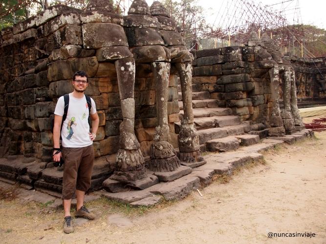 Terraza de los Elefantes en Angkor