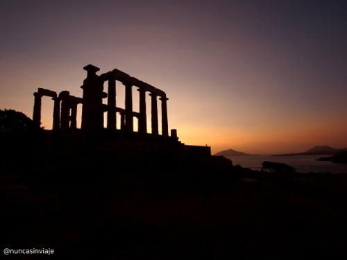 Templo de Poseidón en Grecia