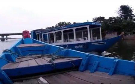 Barco en Vietnam