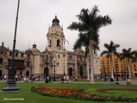 Catedral de Lima en Perú