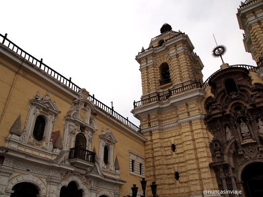 Iglesia de San Francisco de Lima en Perú