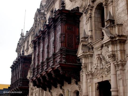 Palacio Arzobispal de Lima en Perú