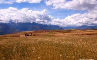 Valle Sagrado de los Incas en Perú.