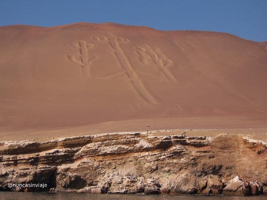 Candelabro o Tridente en la Reserva Natural de Paracas