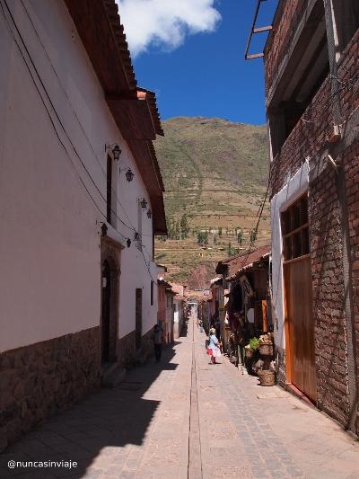 Pisac colonial en Perú