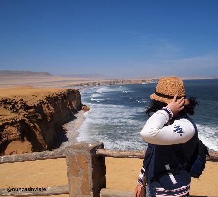 Playa en la Reserva Natural de Paracas