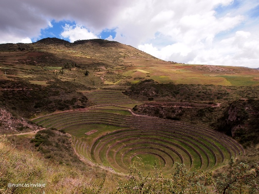 Terrazas agrícolas en Moray