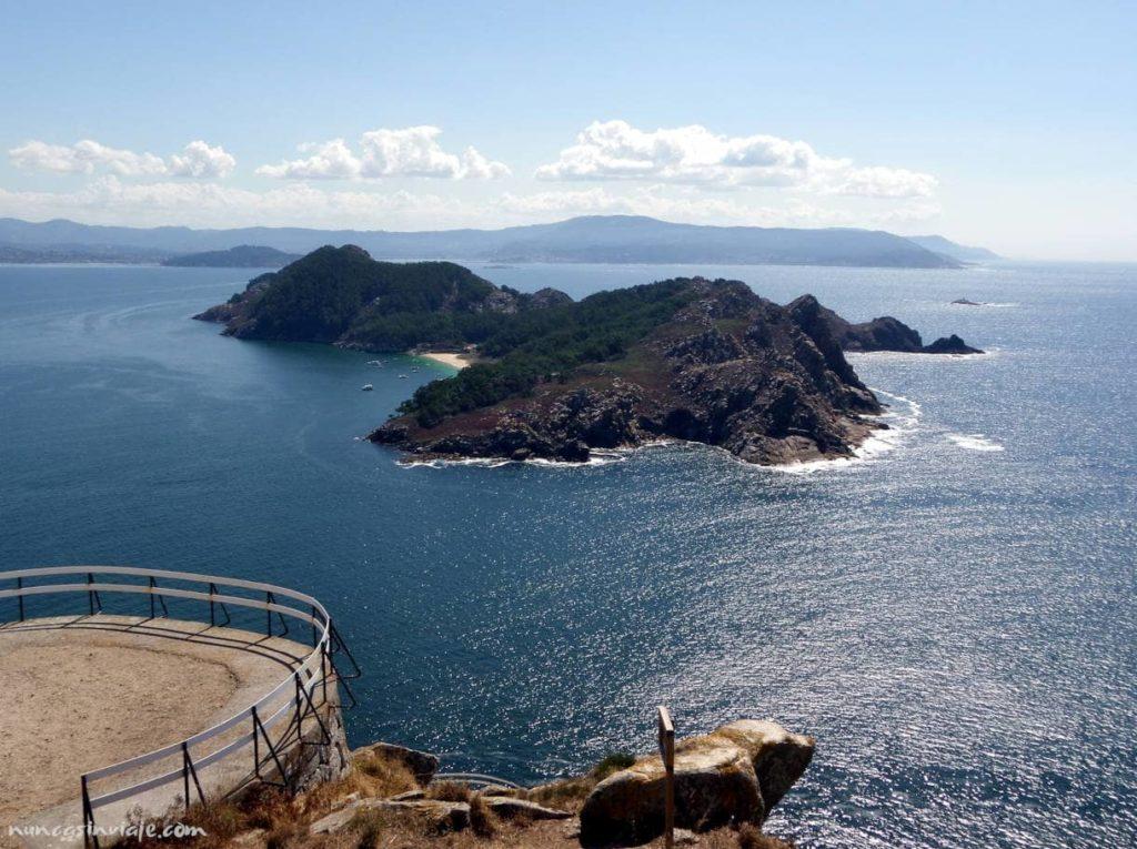 Isla de San Martiño, en las Cíes