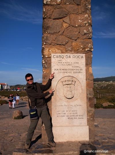 Letrero en Cabo da Roca