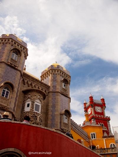 Fachada del Palacio da Pena