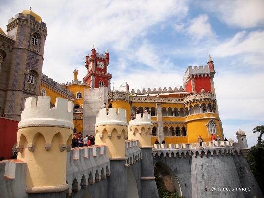 Vista del Palacio da Pena