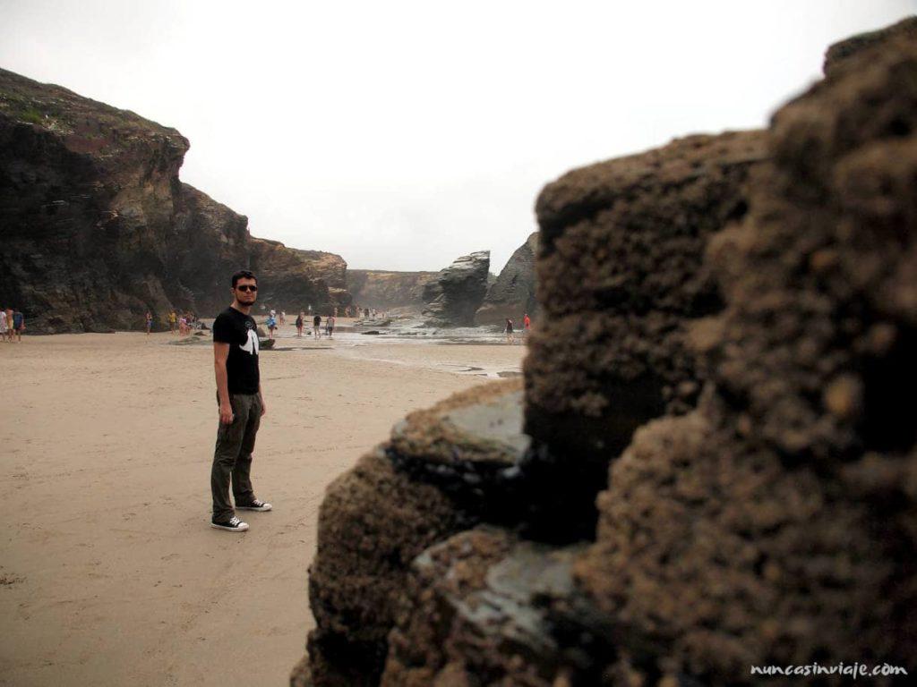 Arenal con la marea baja