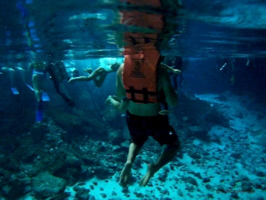 Cenotes en Riviera Maya: las aguas cristalinas del Cenote Dos Ojos