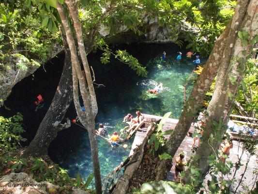 Gran Cenote en Riviera Maya, México