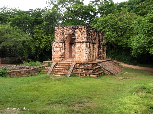 Una de las puertas de Ek Balam