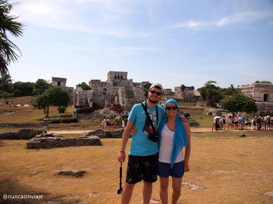 Ruinas en Riviera Maya: Tomás y Raquel en Tulum