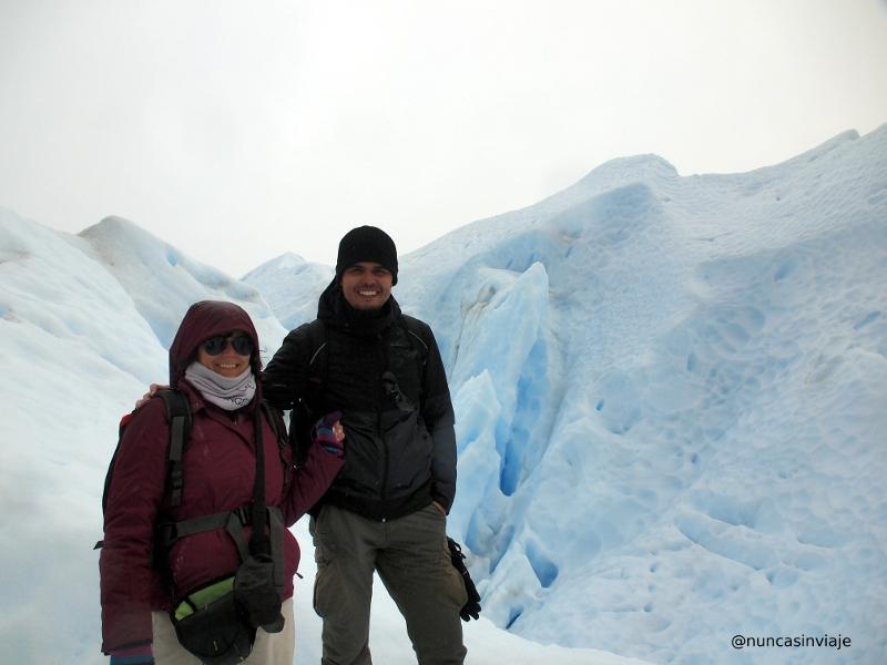 en el Perito Moreno