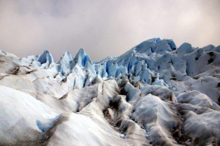 Grietas en el glaciar