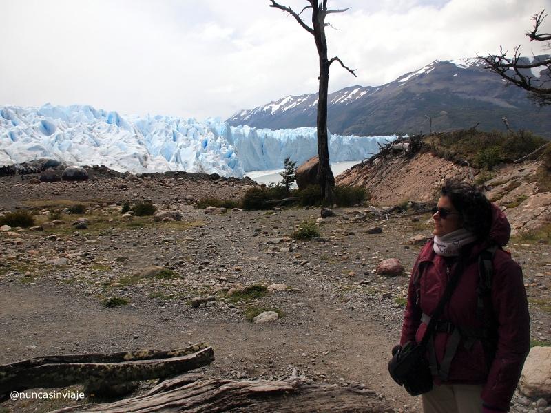 vistas del glaciar Perito Moreno
