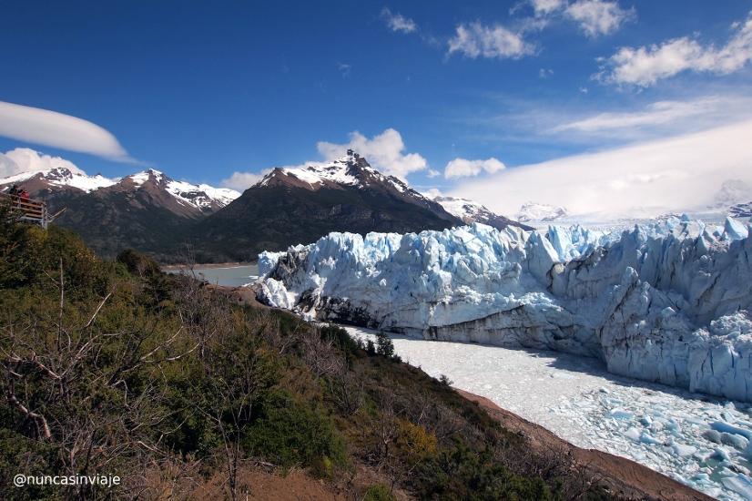 Perito Moreno desde la península de Magallanes