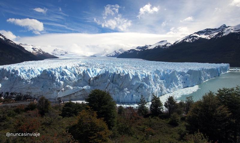 Frontal del Perito Moreno