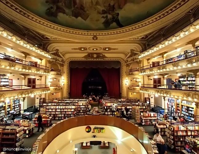 Ateneo Grand Splendid en Buenos Aires