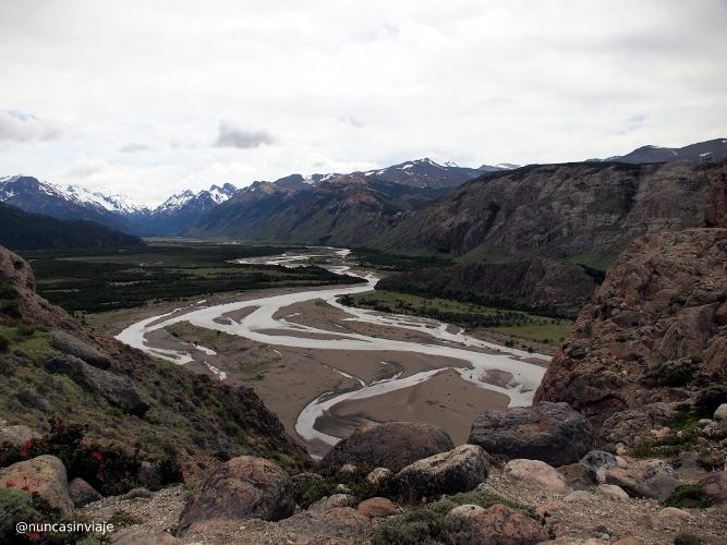 Río Las Vueltas en El Chaltén
