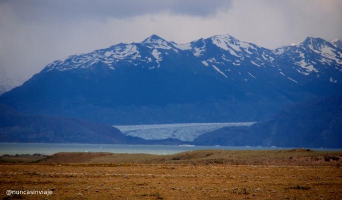 Glaciar y lago Viedma