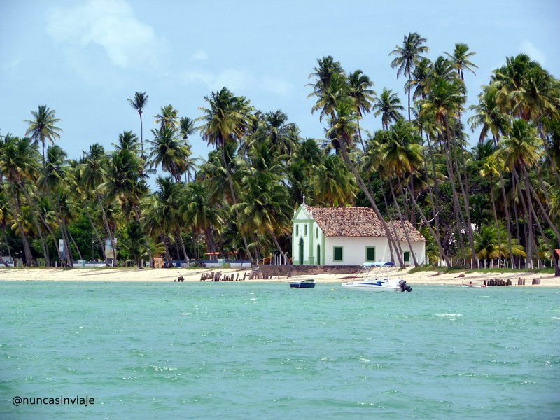 Praia dos Carneiros en Brasil