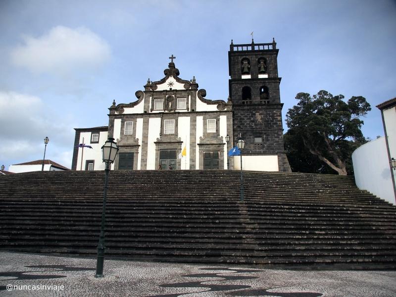 Iglesia en Ribeira Grande Azores