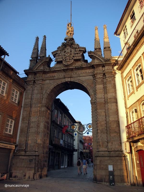 Arco da Porta Nova en Braga