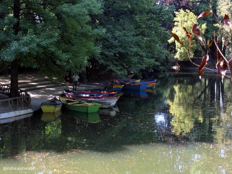 Barcas en el santuario de Bom Jesus do Monte