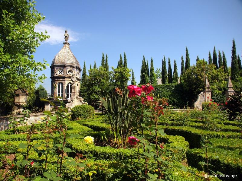 Jardines en le Palacio dos Biscainhos en Braga