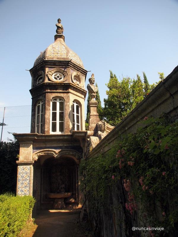 Jardines en el palacio dos Biscainhos