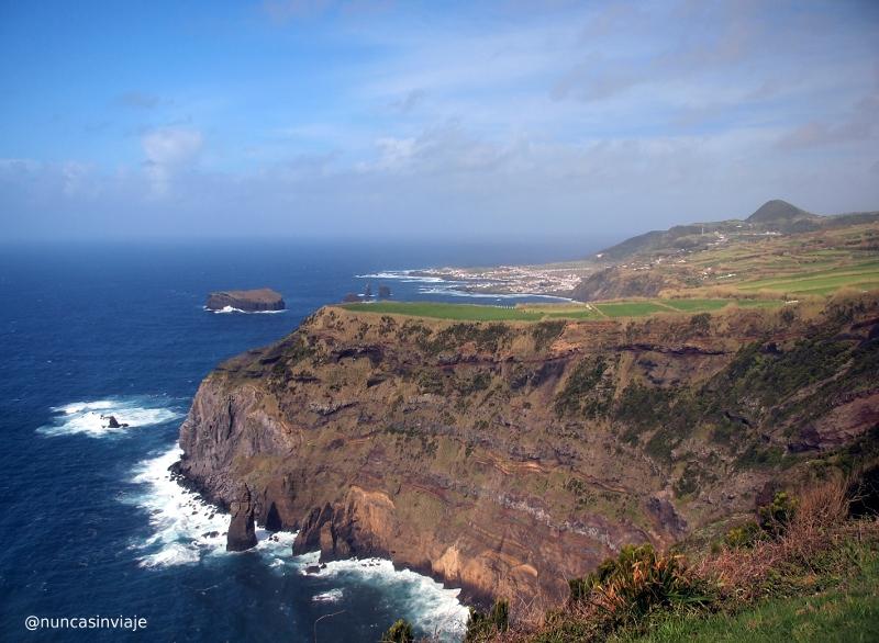 Mosteiros, en la isla de San Miguel