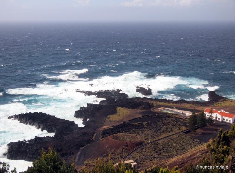 Ponta da Ferraria en la isla de San Miguel, en Azores.