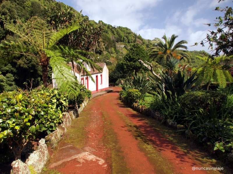 Jardín botánico Ribeira do Guilherme