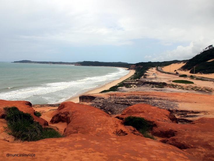 Praia de Cacimbinhas en Natal, Brasil