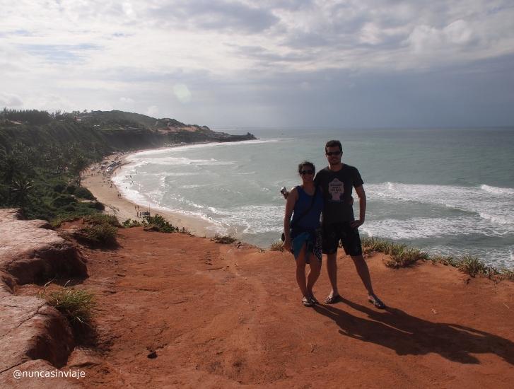 Praia do Amor en Pipa, Brasil