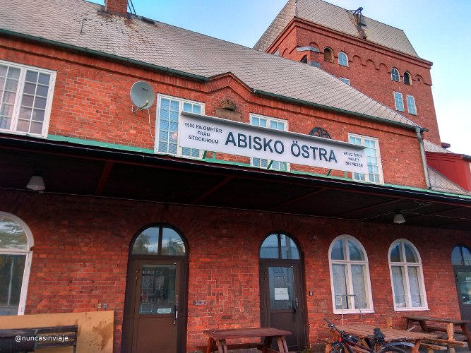 estación de Abisko Ostra