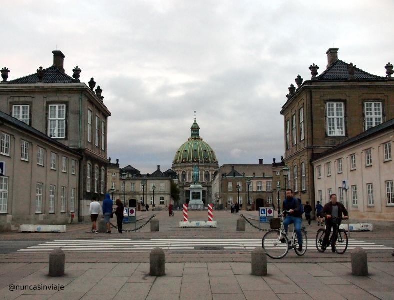 Amalienborg en Copenhague
