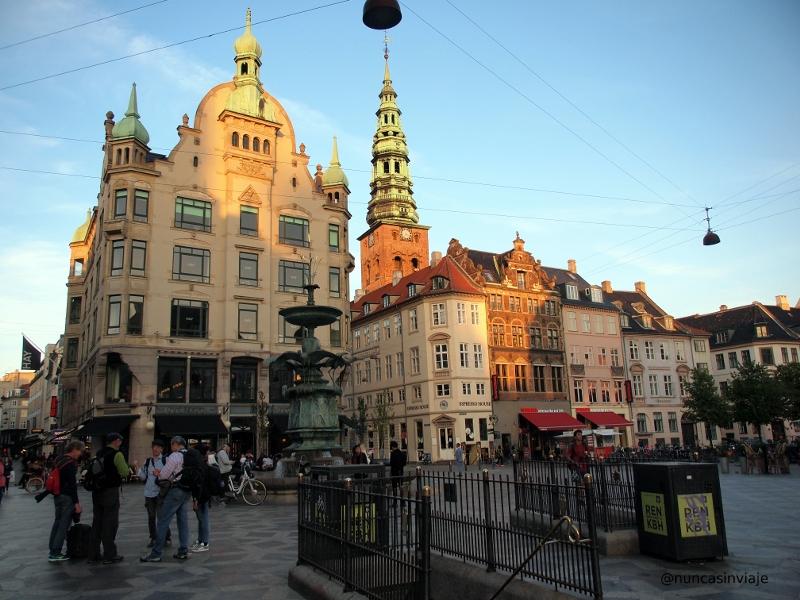Zona peatonal en Copenhague