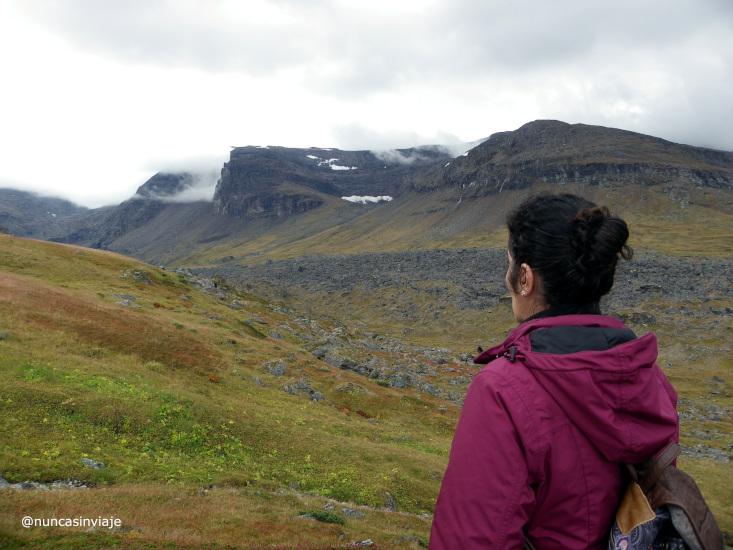 Valle hacia Trollsjon