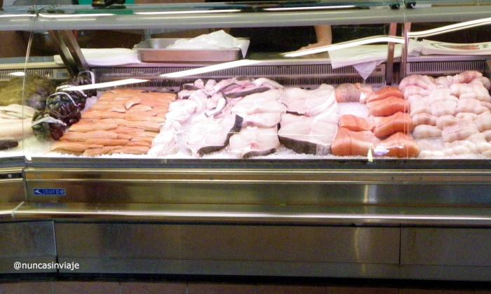 Mercado de pescado en Noruega